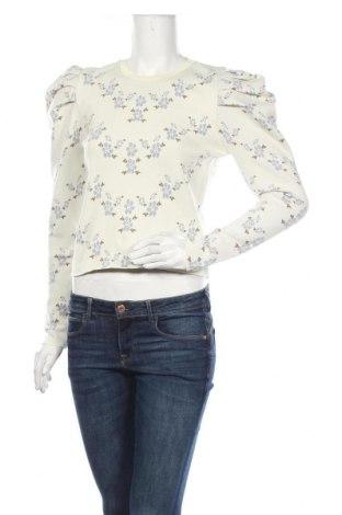 Bluză de femei Zara, Mărime M, Culoare Alb, Poliester, Preț 93,75 Lei