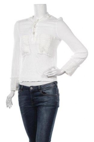 Bluză de femei Zara, Mărime S, Culoare Alb, Viscoză, Preț 103,62 Lei