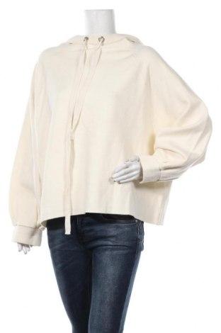 Дамска блуза Zara, Размер L, Цвят Екрю, 50% вискоза, 31% полиестер, 19% полиамид, Цена 44,25лв.