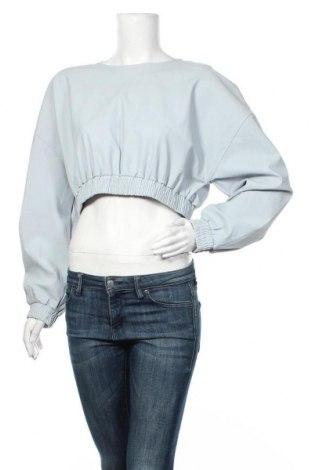 Γυναικεία μπλούζα Zara, Μέγεθος M, Χρώμα Μπλέ, 77% πολυαμίδη, 23% ελαστάνη, Τιμή 9,38€