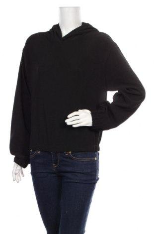 Дамски суичър Zara, Размер M, Цвят Черен, 96% полиестер, 4% еластан, Цена 44,25лв.
