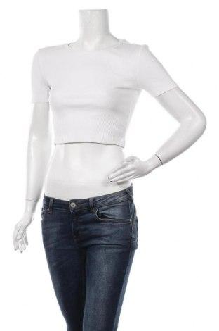 Дамска блуза Zara, Размер S, Цвят Бял, 95% памук, 5% еластан, Цена 25,50лв.