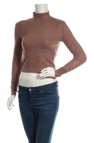 Дамска блуза Zara, Размер S, Цвят Пепел от рози, 74% полиестер, 23% вискоза, 3% еластан, Цена 36,75лв.