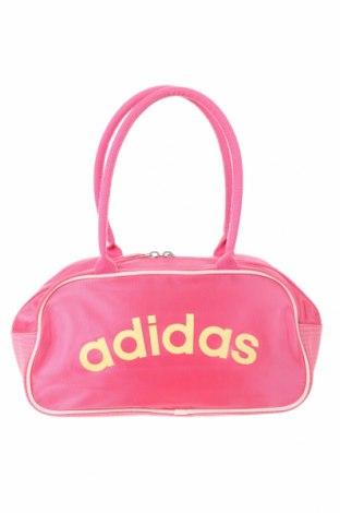 Γυναικεία τσάντα Adidas, Χρώμα Ρόζ , Κλωστοϋφαντουργικά προϊόντα, Τιμή 20,88€
