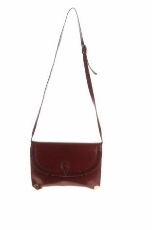 Дамска чанта Bally, Цвят Червен, Естествена кожа, Цена 115,20лв.
