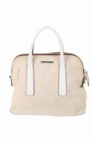 Γυναικεία τσάντα Coccinelle, Χρώμα  Μπέζ, Κλωστοϋφαντουργικά προϊόντα, γνήσιο δέρμα, Τιμή 83,04€