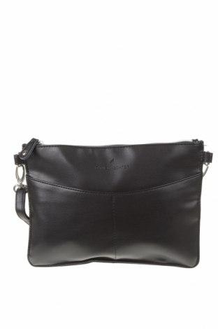 Γυναικεία τσάντα Daniel Hechter, Χρώμα Μαύρο, Δερματίνη, Τιμή 25,98€