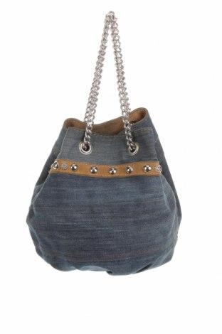 Дамска чанта Denny Rose, Цвят Син, Текстил, Цена 42,75лв.