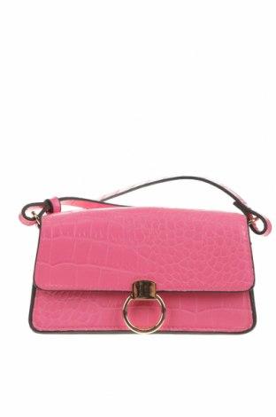 Geantă de femei H&M, Culoare Roz, Piele ecologică, Preț 69,08 Lei