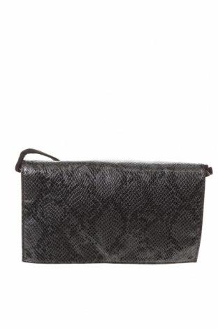 Дамска чанта H&M Divided, Цвят Черен, Текстил, еко кожа, Цена 17,20лв.