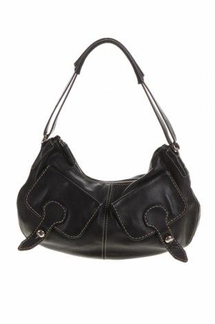 Γυναικεία τσάντα Tod's, Χρώμα Μαύρο, Γνήσιο δέρμα, Τιμή 152,17€