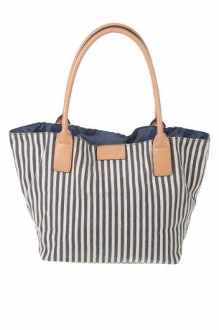 Γυναικεία τσάντα Tom Tailor, Χρώμα Μπλέ, Κλωστοϋφαντουργικά προϊόντα, δερματίνη, Τιμή 25,98€