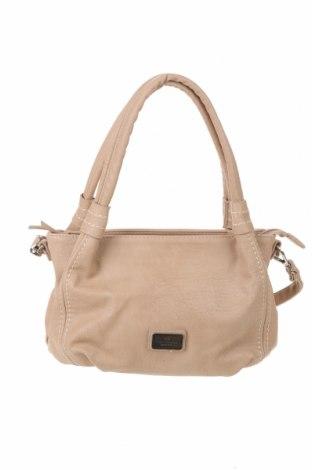 Γυναικεία τσάντα Tom Tailor, Χρώμα  Μπέζ, Δερματίνη, Τιμή 28,30€