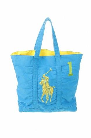 Γυναικεία τσάντα U.S. Polo Assn., Χρώμα Μπλέ, Κλωστοϋφαντουργικά προϊόντα, Τιμή 32,01€