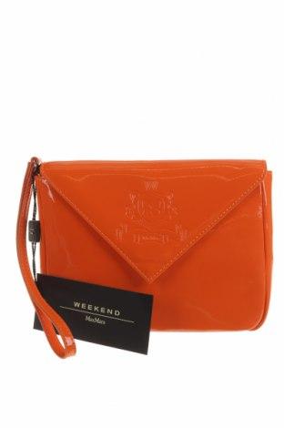 Γυναικεία τσάντα Weekend Max Mara, Χρώμα Πορτοκαλί, Δερματίνη, Τιμή 101,60€