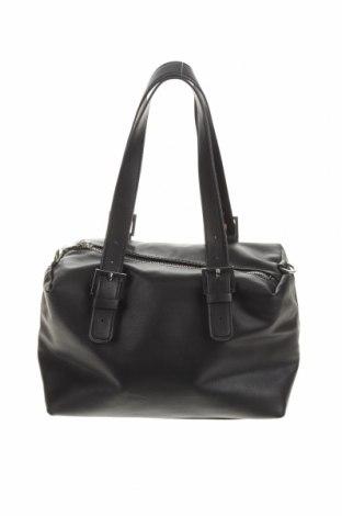 Γυναικεία τσάντα Zara Trafaluc, Χρώμα Μαύρο, Δερματίνη, Τιμή 26,45€