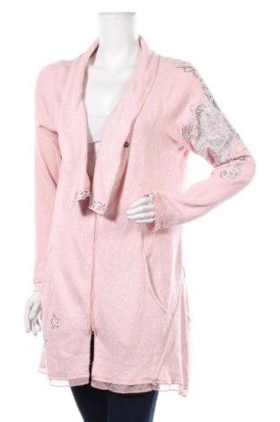 Γυναικεία ζακέτα, Μέγεθος L, Χρώμα Ρόζ , Τιμή 5,91€