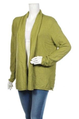 Дамска жилетка Cecil, Размер L, Цвят Зелен, 60% памук, 40% вискоза, Цена 28,35лв.