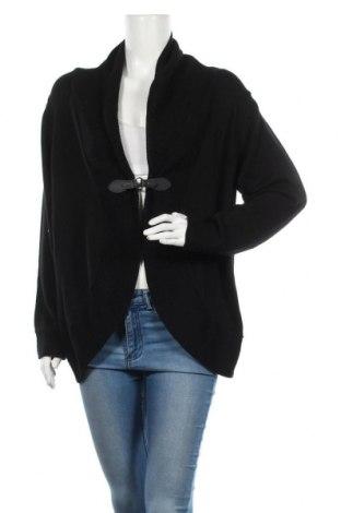 Дамска жилетка My Own, Размер XXL, Цвят Черен, 60% памук, 40% акрил, Цена 27,30лв.