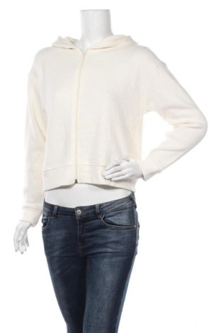 Дамска жилетка Zara, Размер S, Цвят Екрю, 50% вискоза, 37% полиестер, 12% полиамид, 1% еластан, Цена 28,60лв.
