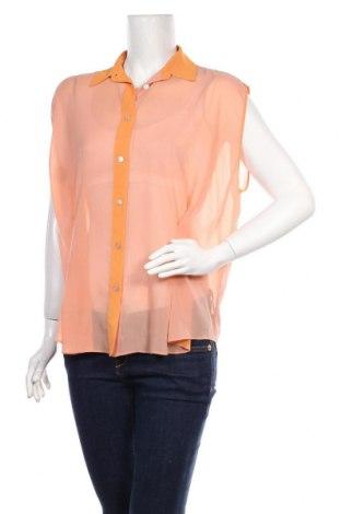 Дамска риза Acne, Размер L, Цвят Оранжев, Цена 85,80лв.