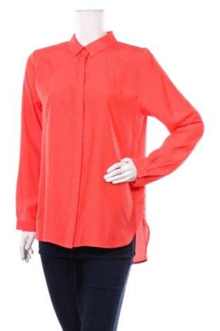 Γυναικείο πουκάμισο Comma,, Μέγεθος M, Χρώμα Κόκκινο, 62% πολυεστέρας, 38% βισκόζη, Τιμή 28,07€