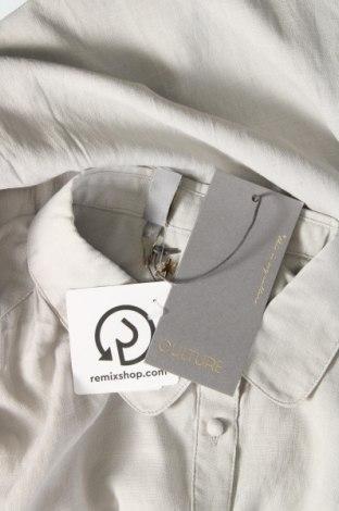 Дамска риза Culture, Размер M, Цвят Сив, 80% вискоза, 20% полиестер, Цена 59,25лв.