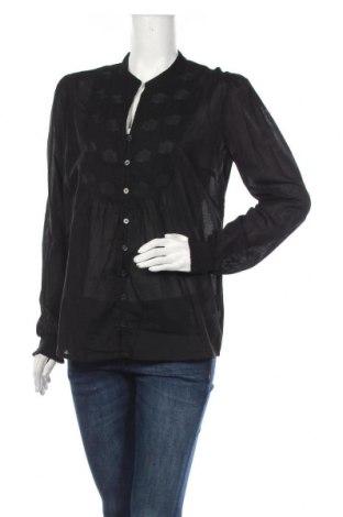 Дамска риза Culture, Размер M, Цвят Черен, Памук, Цена 48,00лв.