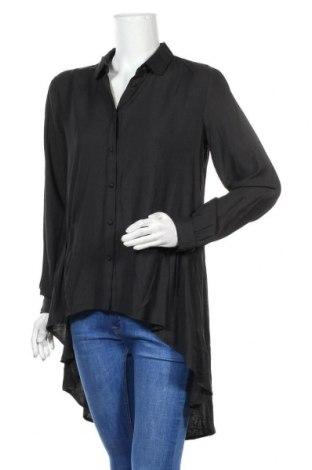 Дамска риза Culture, Размер M, Цвят Черен, 80% вискоза, 20% полиестер, Цена 59,25лв.