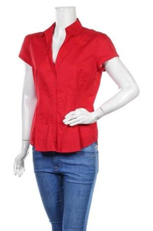 Cămașă de femei Esprit, Mărime XL, Culoare Roșu, Bumbac, Preț 64,15 Lei