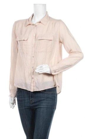 Дамска риза H&M, Размер M, Цвят Бежов, Цена 26,00лв.