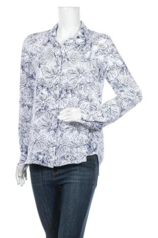 Дамска риза H&M, Размер M, Цвят Бял, Полиестер, Цена 25,00лв.