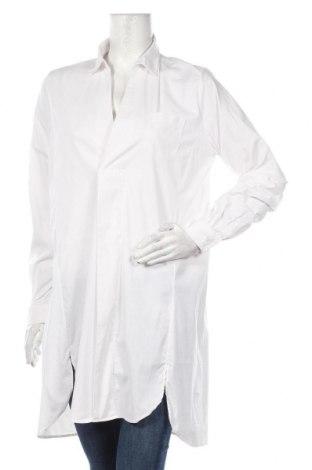 Γυναικείο πουκάμισο Ilse Jacobsen, Μέγεθος L, Χρώμα Λευκό, 55% βαμβάκι, 40% πολυεστέρας, 5% ελαστάνη, Τιμή 32,01€