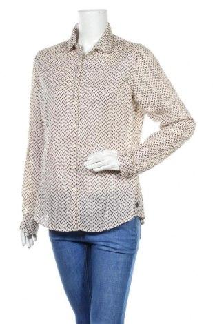 Γυναικείο πουκάμισο Maison Scotch, Μέγεθος L, Χρώμα  Μπέζ, Βαμβάκι, Τιμή 22,27€