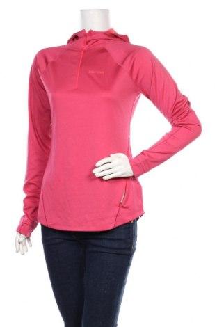 Дамска спортна блуза Marmot, Размер M, Цвят Розов, Полиестер, Цена 30,75лв.