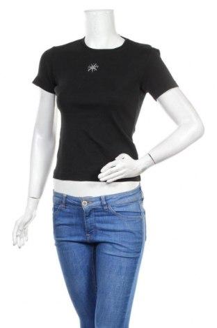 Дамска тениска Esprit, Размер S, Цвят Черен, Памук, Цена 16,50лв.