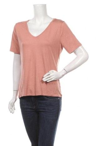 Γυναικείο t-shirt Lounge Nine, Μέγεθος M, Χρώμα Ρόζ , 95% μοντάλ, 5% ελαστάνη, Τιμή 9,50€
