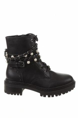 Dámské boty  Bershka, Velikost 36, Barva Černá, Eko kůže, Cena  527,00Kč