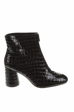 Dámské boty  Bershka, Velikost 36, Barva Černá, Eko kůže, Cena  430,00Kč
