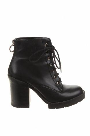 Dámské boty  Pull&Bear, Velikost 37, Barva Černá, Eko kůže, Cena  781,00Kč