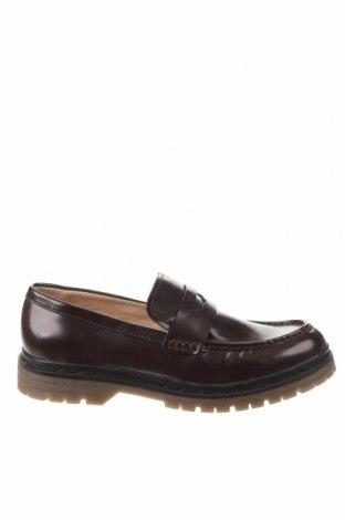 Дамски обувки Pull&Bear, Размер 40, Цвят Червен, Еко кожа, Цена 26,55лв.