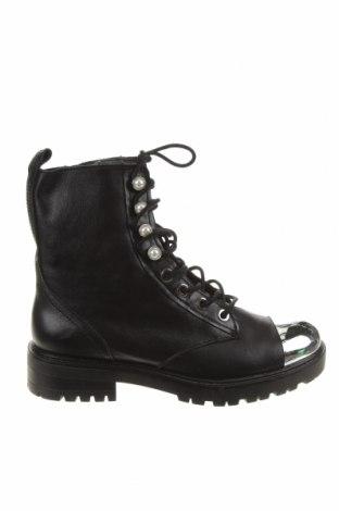 Dámské boty  Zara, Velikost 38, Barva Černá, Pravá kůže, Cena  1181,00Kč