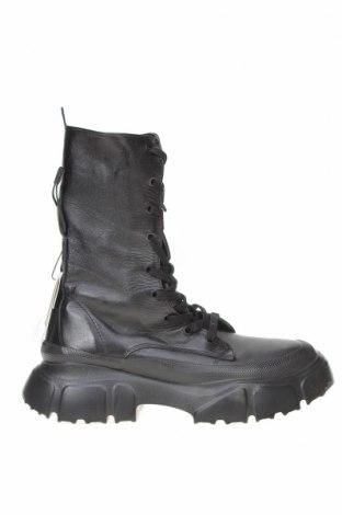 Dámské boty  Zara, Velikost 38, Barva Černá, Pravá kůže, Cena  1529,00Kč