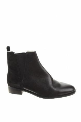 Dámské boty  Zara, Velikost 40, Barva Černá, Pravá kůže, Přírodní velur , Cena  1007,00Kč