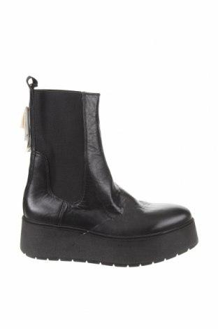 Dámské boty  Zara, Velikost 40, Barva Černá, Pravá kůže, Cena  972,00Kč