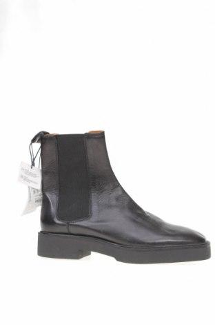 Dámské boty  Zara, Velikost 39, Barva Černá, Pravá kůže, Cena  756,00Kč