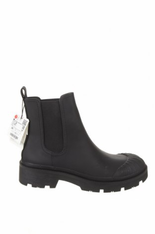 Dámské boty  Zara, Velikost 39, Barva Černá, Eko kůže, textile , Cena  630,00Kč