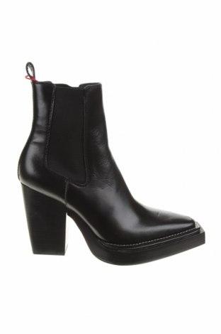 Dámské boty  Zara, Velikost 39, Barva Černá, Pravá kůže, Cena  1728,00Kč