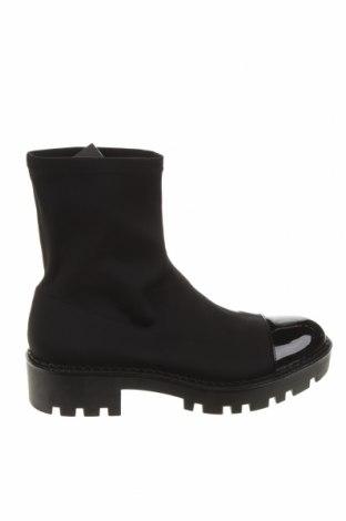 Dámské boty  Zara, Velikost 39, Barva Černá, Textile , Eko kůže, Cena  1076,00Kč