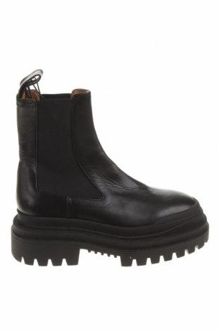 Dámské boty  Zara, Velikost 37, Barva Černá, Pravá kůže, Cena  1837,00Kč
